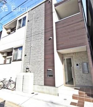 仮)一社三丁目デザイナーズアパート(新築専任物件)外観写真