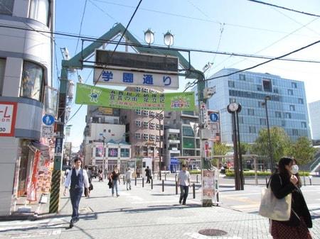 東京電機大学千住キャンパスに近い商店街です!
