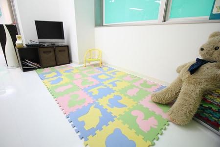 キッズスペースもあり,お子様連れでもゆっくりお部屋探しが出来ます。
