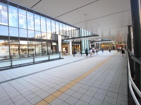 都心へのアクセスも良好!特急停車駅の府中駅です。