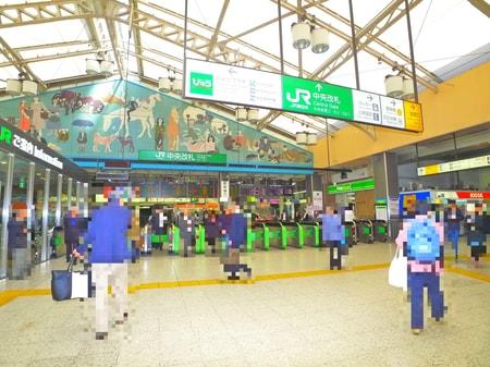 上野駅 中央改札口