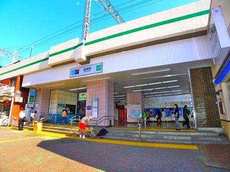 綾瀬駅 西口改札です!!