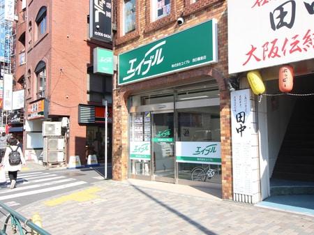1階店舗、お隣は吉野家さんです。