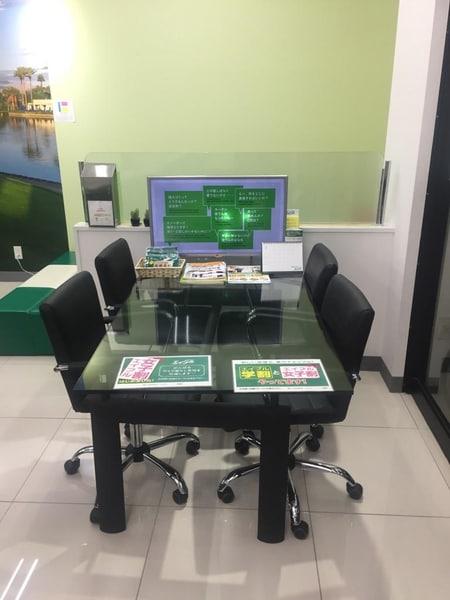 商談スペースもございます。