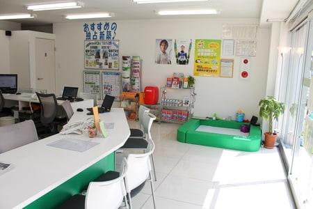 大きな店舗でゆったりとしたお部屋探しをしていただけます♪店舗リフォームも完了しています♪