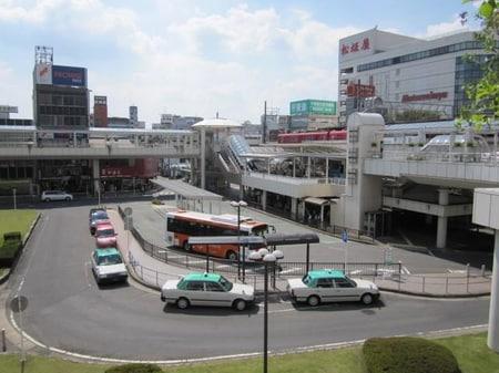 名鉄線「豊田市」駅下車、徒歩3分です。