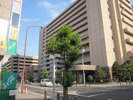名鉄ホテル北側です。