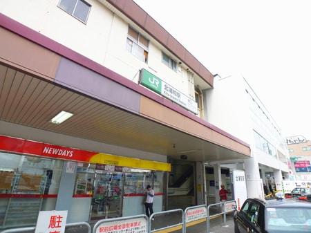 北浦和駅東口。駅構内にエレベーターも有ります!