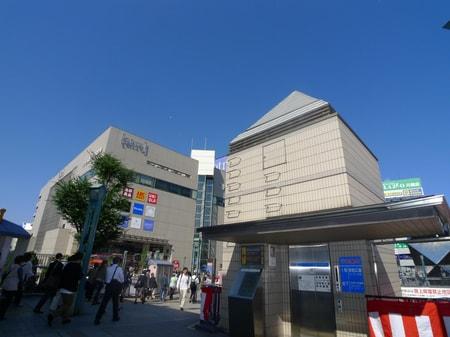 駅からお店までの道案内です。東上線の川越駅、東口を出て頂き左手を見て頂くとアトレビルがございます。
