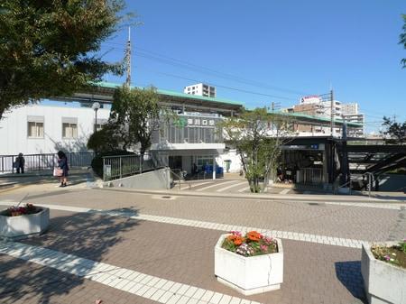 東川口駅ロータリー