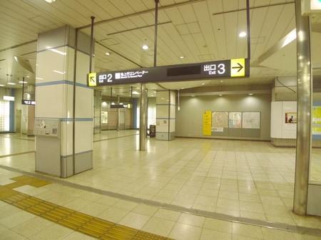 鳩ヶ谷店は2番出口からお越しいただくとスムーズに行けます。