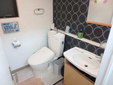 女性やお子様にもご利用いただきやすいトイレになっております。