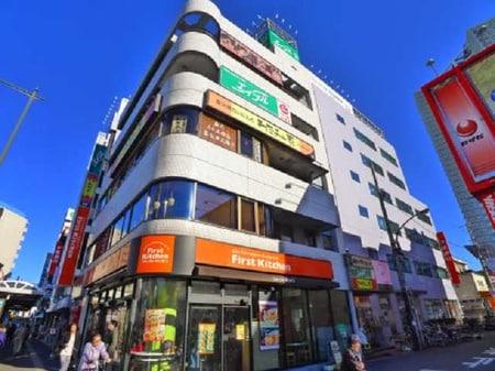 稲毛駅東口ロータリー沿い、1Fファーストキッチンのビル4Fにあります♪千葉銀行隣りです。