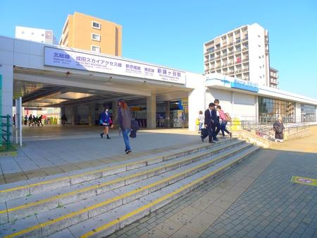 東武野田線・新京成線・北総線の3路線停車駅の新鎌ケ谷駅