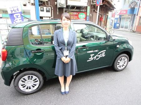 現地まで車でご案内致します。