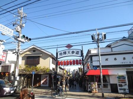 「柴又帝釈天」京成高砂から、京成金町線で一駅の柴又にあります!