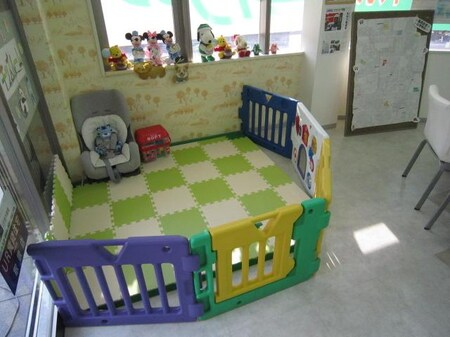 お子様にも楽しんで頂けるスペースもご用意しております。