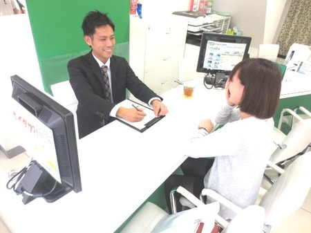 地域に精通したスタッフがお客様の理想のお部屋探しをサポート☆『親切・丁寧・笑顔』がモットーです!