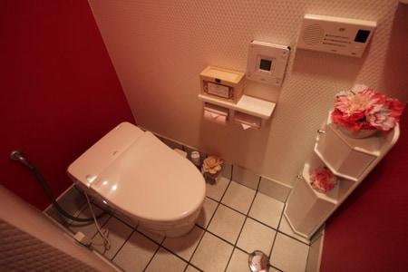自慢のトイレは清潔感溢れます♪