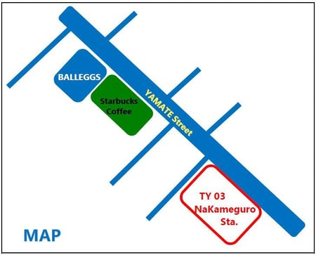 TY03中目黒駅より徒歩3分です。