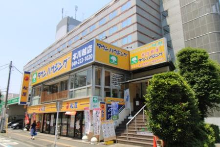 本川越駅徒歩1分です