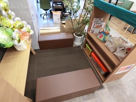 キッズスペースもあります!