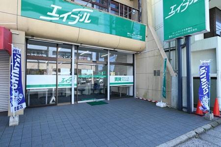 木更津駅東口徒歩2分の所に当店は御座います。お車でお越しの方は当店1F目の前におけますので安心です!