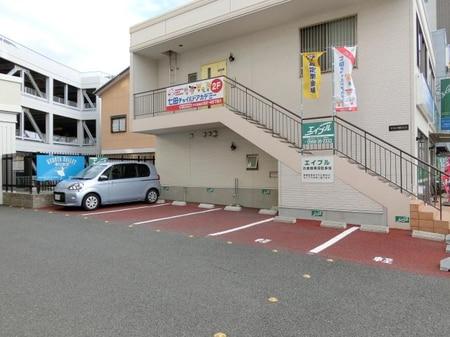 駐車場5台分 店舗横完備です。