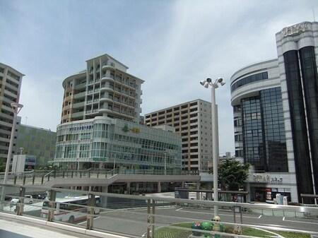 勝川駅北口の風景