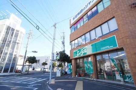 JR掛川駅北口から東の方向へ徒歩4分!コインパーキングのサービス券もございます!